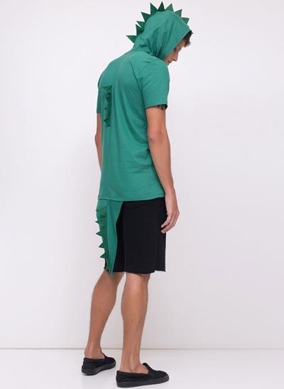 Camiseta Fantasia Dinossauro