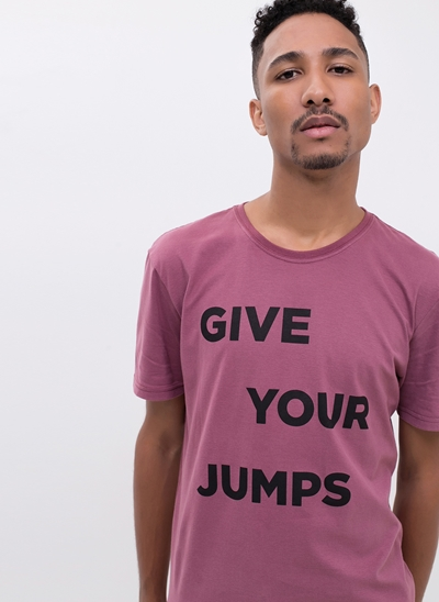 Camiseta Give Your Jumps