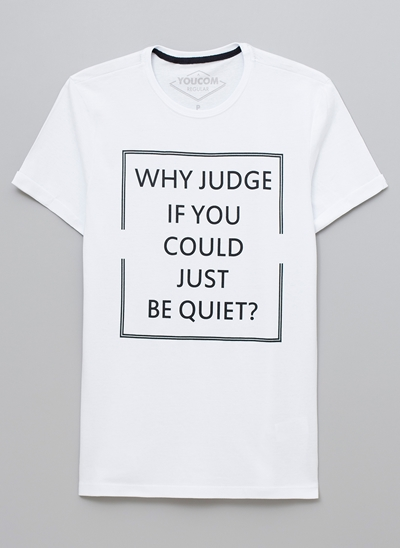 Camiseta Why Judge?