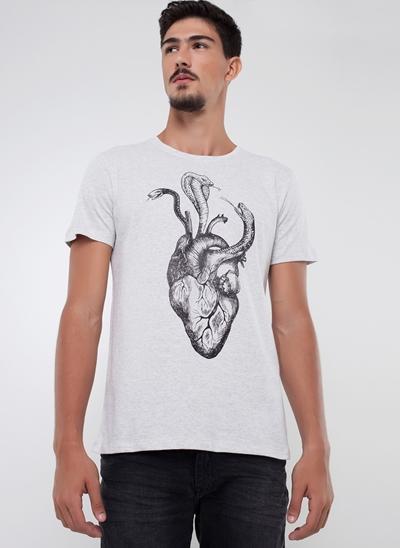 Camiseta Coração Cobra
