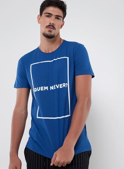 Camiseta Quem Never?