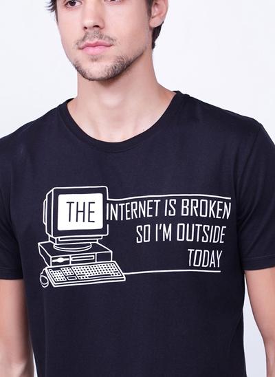 Camiseta Internet is Broken