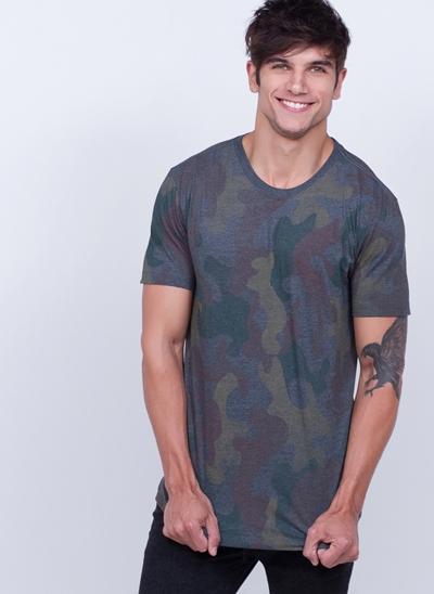 Camiseta Camuflada Militar