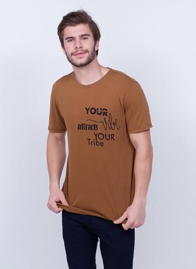 Camiseta Your Vibe com Bolso