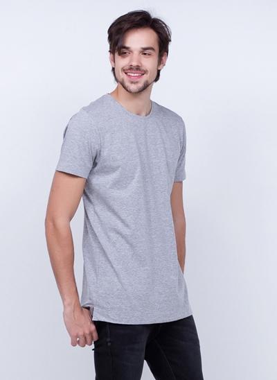 Camiseta Alongada Manga Curta
