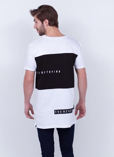 Camiseta Alongada Never Fail