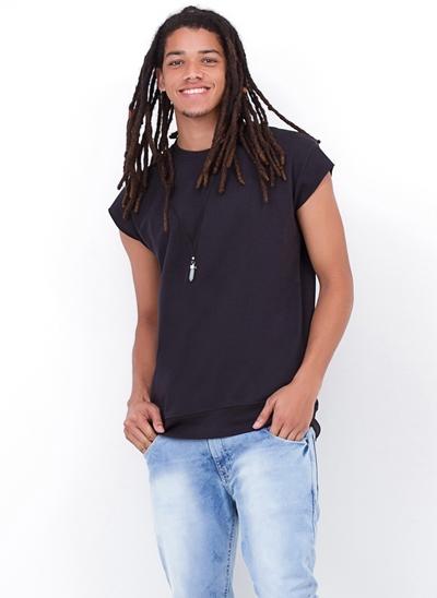 Camiseta Oversized Moletinho