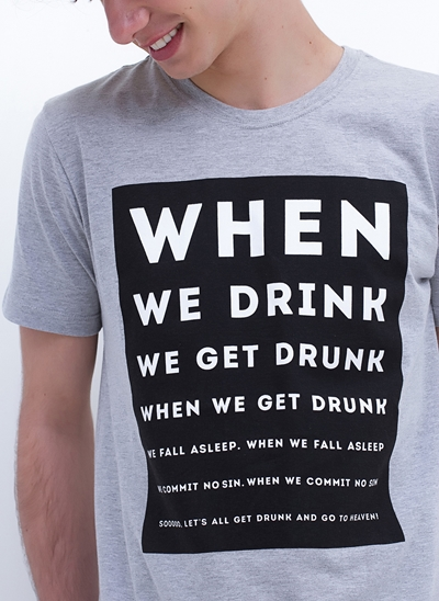 Camiseta When We Drink