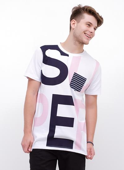 Camiseta Alongada SUPER com Bolso
