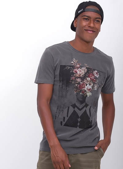Camiseta Flower Men