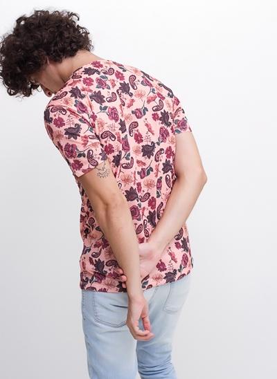 Camiseta Rose Floral