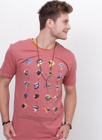 Camiseta Pássaros