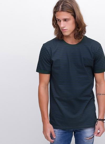 Camiseta com Listras