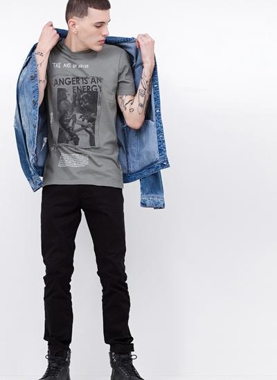 Camiseta com Patch