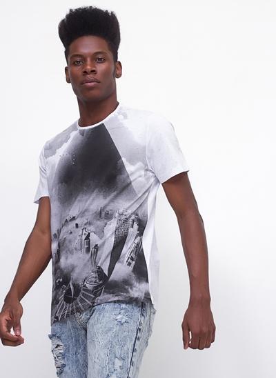 Camiseta NY em Botonê